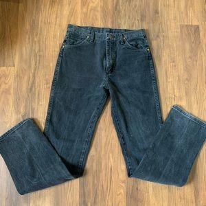Vintage High-Waisted Wrangler Jeans-Long